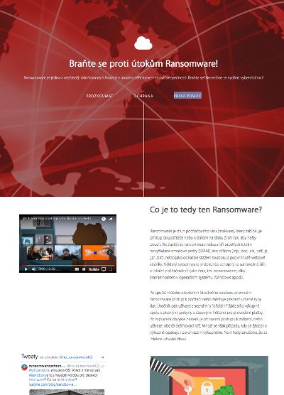 www.ransomwareochrana.cz