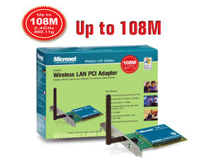 DOWNLOAD DRIVERS: MICRONET WIRELESS LAN PCI ADAPTER