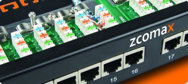 Zcomax Patch panel