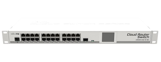 Mikrotik Cloud Router Switch Crs125 24g 1s Rm Rackmount
