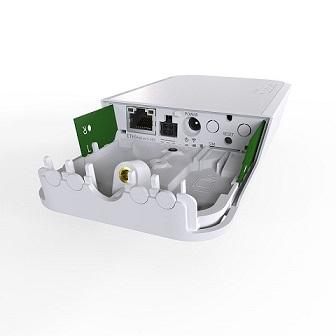 MikroTik RBwAPR-2nD&R11e-LTE Outdoor/Indoor jednotka, LTE Cat4, 2,4 GHz AP