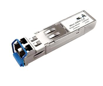 SFP transceiver 155Mbps, 100BASE-FX, MM, 2km, 1310nm (LED), LC dup., 0 až 70°C, 3,3V, Extreme komp., DMI