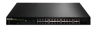 Stackable Aggregation L2 Switch(24*10/100Base-TX,2* 100/1000M Combo(SFP/GT), 2*10/100/1000Base-T GE uplink, 15w POE)
