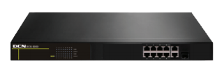 Stackable Aggregation L2 Switch(8*10/100Base-TX,1* 100/1000M Combo(SFP/GT)uplink,15W POE supplier)